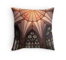 Ceiling, York Minster Throw Pillow