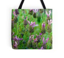 Lavender Many Flowers Tote Bag
