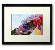 Balloons #1 Framed Print