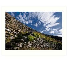 Donegal Sky Art Print