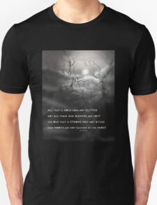 TOLKIEN poetry tree art by ANGIECLEMENTINE T-Shirt