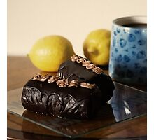 Chocolate cakes Photographic Print