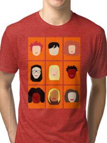 Orange is the New Black Inspired Minimalist Design Tri-blend T-Shirt