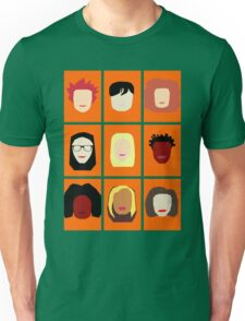 Orange is the New Black Inspired Minimalist Design Unisex T-Shirt