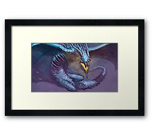 MIDNIGHT HORROR Framed Print