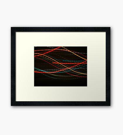 STOP! Framed Print