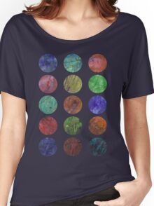 circles and textures Women's Relaxed Fit T-Shirt
