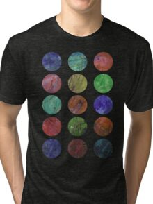 circles and textures Tri-blend T-Shirt