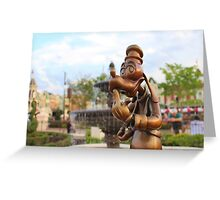 Hub Goofy Greeting Card