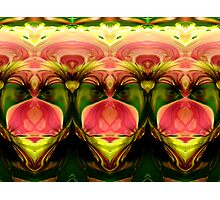 Manipulated Flowers Photographic Print