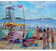 Beach Party Photographic Print