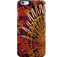 Spinning Ride at the Fair iPhone Case/Skin