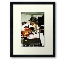 Bluesman Framed Print