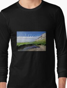 Back Beach - Lyme Regis Long Sleeve T-Shirt