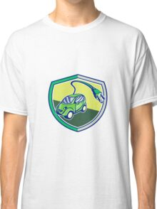 Plug-in Hybrid Electric Vehicle Retro Shield Classic T-Shirt