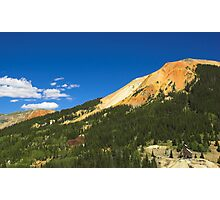 Red Mountain Mine, Colorado Photographic Print