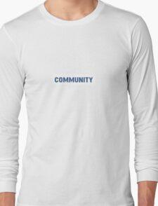 'Community' Long Sleeve T-Shirt