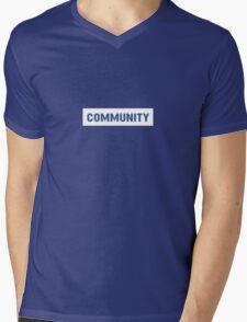 'Community' Mens V-Neck T-Shirt