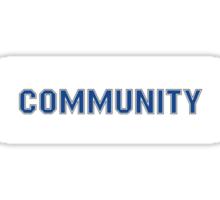 'Community' Sticker