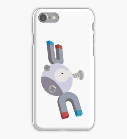 Magnemite Pokemon Simple No Borders iPhone Case/Skin