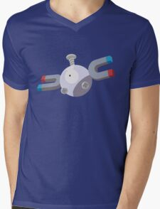 Magnemite Pokemon Simple No Borders Mens V-Neck T-Shirt
