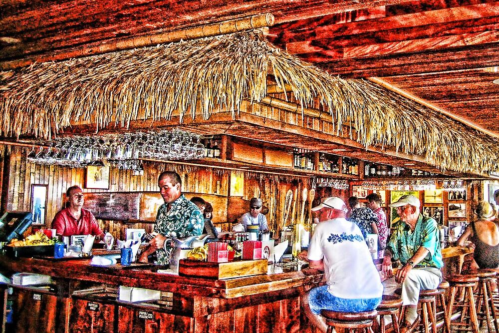 Dukes Beach Bar by Steve Schmidt