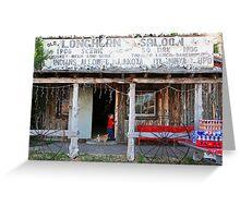 Longhorn Saloon Greeting Card