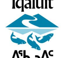 Flag of Iqaluit Sticker