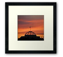 hollow dome Framed Print