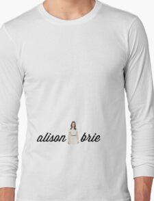 Alison Brie Long Sleeve T-Shirt