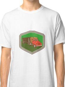 Truck Vintage Logging Shield Retro Classic T-Shirt