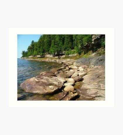 Lake Superior Art Print