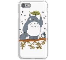 Spring totoro iPhone Case/Skin