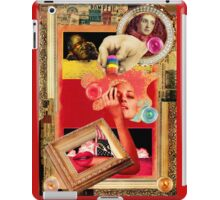 Big Colors on a Contemporary Background with Mari Warrior. iPad Case/Skin