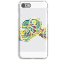 Orbital clouds iPhone Case/Skin
