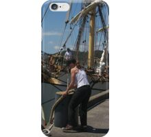 Picton Castle .....she certainly sails the Seven Seas.......! iPhone Case/Skin
