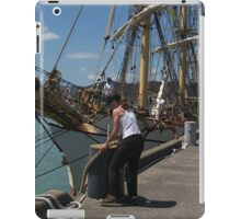 Picton Castle .....she certainly sails the Seven Seas.......! iPad Case/Skin