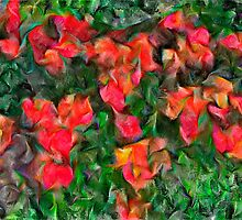Abstract Tulips by Ladydi