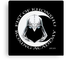 Fist of Khonshu Boxing Academy Canvas Print