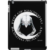 Fist of Khonshu Boxing Academy iPad Case/Skin