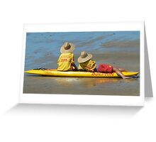 Surf life savers Greeting Card