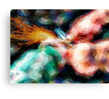 Sparks Aglow Canvas Print