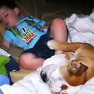 A little boy's best friend... by Jenni Atkins-Stair