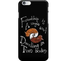 Friendly Foxes iPhone Case/Skin