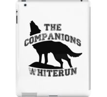 The companions of whiterun - Black iPad Case/Skin
