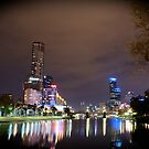 Yarra River by Night by Ryan Lester