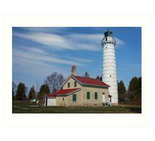 Cana Island Lighthouse Art Print