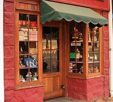 The Old Christmas Shop, Bridgetown, Western Australia by Elaine Teague