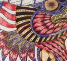 Tangled Eagle No. 4 Sticker