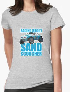 Sand Scorcher Racing Buggy Womens Fitted T-Shirt